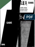 Casio Fx-4200p
