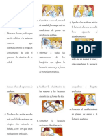 Los Diez Pasos de La Lactancia Materna y Neumonia