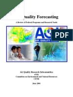 Air Quality Forecasting Particulate