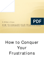 How to Conquer Your Frustrations