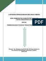 Contoh Format Lpj Hibah Murni 2018-1