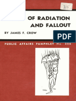 Effects of Radiation and Fallout