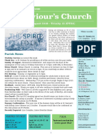 st saviours newsletter - 19 august 2018