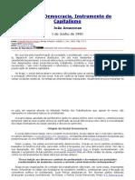 JOÃO AMAZONAS - A Social Democracia Um Instrumento Do Capitalismo