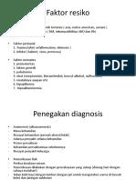 Faktor Resiko Dan Penegakan Dignosis