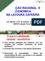 Adubação racional do cafeeiro