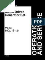 driver generator set carrier