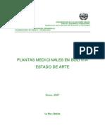 Plantas Medic in Ales en Bolivia Estado de Arte