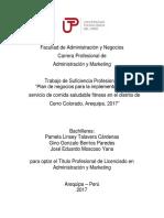 Pamela Talavera_Gino Berrios_Jose Moscoso_Trabajo de Suficiencia Profesional_Titulo Profesional_2017