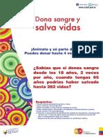 Afiche Sangre Modelo 2015 Impr