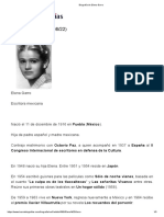 Biografía de Elena Garro