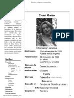 Elena Garro - Wikipedia, La Enciclopedia Libre