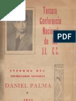 Tercera Conferencia Nacional de las JJ. CC. 1947