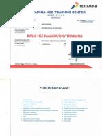 Basic Hse Mandatory
