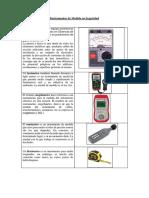 Instrumentos de Medida en Seguridad