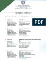 Govt Vacancy