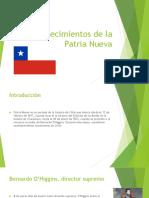 Acontecimientos de La Patria Nueva (1)
