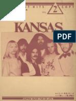 Rock Best Hits - Kansas - (Band Score)