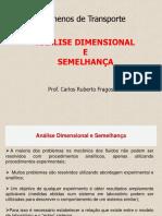 analise dimensional