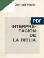 Hasel Interpretacion de La Biblia