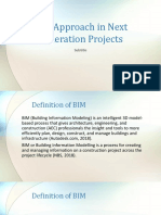 BIM Approach in Next Generation Projects