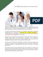 Los 25 Indicadores KPI en salud