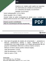 EXERCÍCIOS UNIDADE 2 NBR 6123