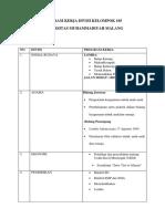 Program Kerja Divisi Kelompok 105