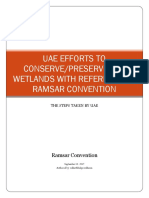 Uae Efforts to Conserve