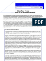 Urban Poor Funds