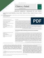 Keawe´aimoku-Kaholokula et al. (2013). Análisis funcional en evaluación conductual y formulación de casos clínicos. Clínica y Salud