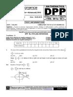 XII Maths DPP (12) - Prev Chaps - Derivability