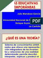 TEORÍAS EDUCATIVAS CONTEMPORÁNEAS..pptx