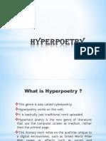Hyper Poetry