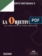 Maturana, objetividad.pdf