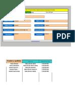 Agenda de Datos en Excel