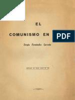 El comunismo en Chile, partido conservador (1959)
