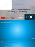 Procurement and Inventory CRP