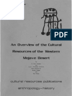 California_cult Resources Mojave Western