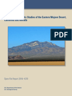 Gravity and Magnetic Studies of the Eastern Mojave
