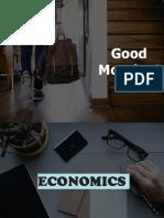 Chapter 1 - Economics
