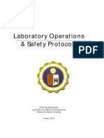 Laboratory Operations & Safety Protocols v2010