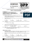 XII Maths DPP (27) - Prev Chaps - Area Under Curves - LPP - Differential Equation