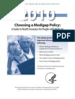 Choosing a MediGap Policy 2010