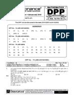 XII Maths DPP (34) - Prev Chaps - Determinant&Matrices.pdf