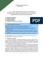Comunicare Didactica - Suport de Curs