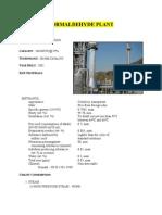 Formaldehyde Plant[1]