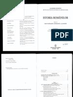 Istoria Romanilor. Acadademia Romana vol. 2