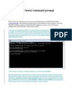 Membuat File Lewat Command Prompt
