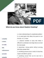 Stephen Hawking Dies